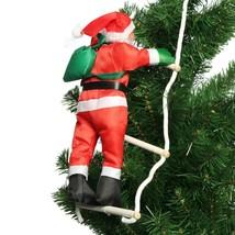 Christmas Decoration Climbing Santa Claus Rope Ladder Pendant Xmas Tree ... - $10.61+