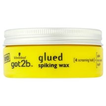 Schwarzkopf got2b Glued Spiking Wax 75ml Case of 6 by Schwarzkopf - $58.40