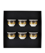 Versace I Love Baroque 6 cups small w/o handle Porcelain Made in Italy - $364.30