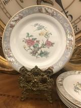 "Lot of 6 Vintage Johnson Brothers Old English VIGO 9"" Luncheon Plates salad G4 - $64.35"
