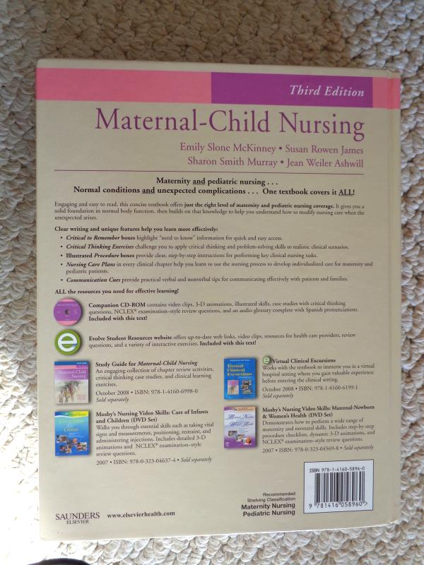 3rd Edition Maternal-Child Nursing Hard and 50 similar items