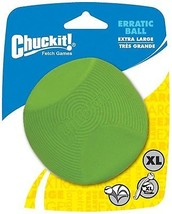 Chuckit Erratic Toy Ball For Larger Dogs, X-Large - £18.10 GBP