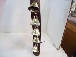 Leather Sleigh Bells, Door Bell Jingler, Jingles F1 - $12.86