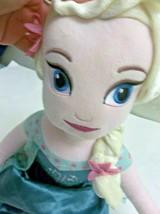 "Elsa from Frozen Plush Doll 27""  Disney  - $12.87"