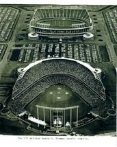 Harry S Truman Sports Complex 8X10 Photo Kansas City Royals Kc Baseball Stadium - $4.94