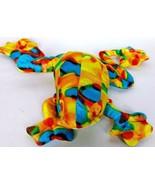 "ACM Rainbow Colored Tree Frog Plush Stuffed Animal Toy 17"" - $15.04"