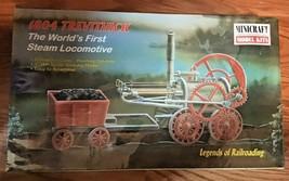 Minicraft Model Kit Legends of Railroading 1804 Trevithick 1/38 11102 Sealed Box - $27.67