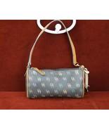 Dooney & Burke Baguette Multi Colored Zipper Handbag Purse Charcoal Gray... - $21.84