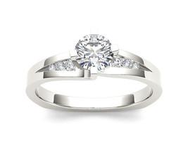 IGI Certified 14k White Gold 0.75 Ct Diamond Classic Solitaire Engagemen... - $1,121.99