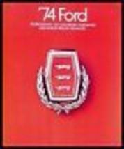 1974 Ford Prestige Brochure- Galaxie 500 LTD Brougham - $11.40