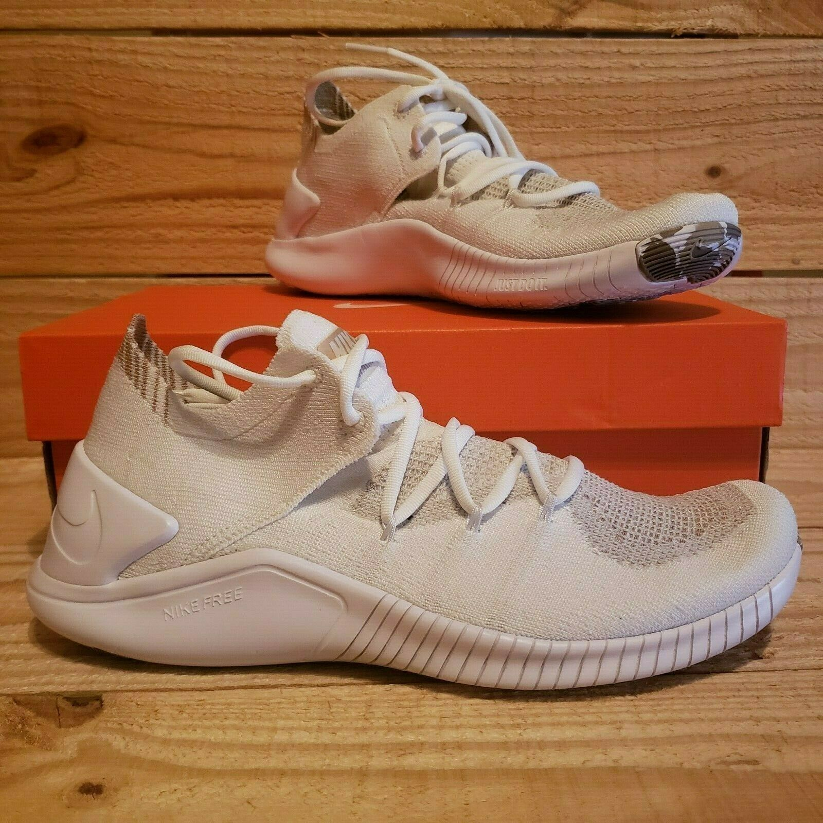 ab4f44e2949ab 57. 57. Previous. Nike Free TR Flyknit 3 Amp S AA1212 100 Women Running Training  Shoes Size White