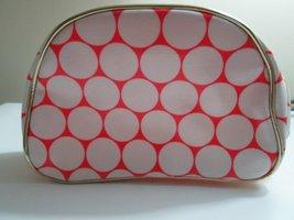 Nordstrom Pink & White Polka Dot Makeup Bag (Waterproof) - $39.59