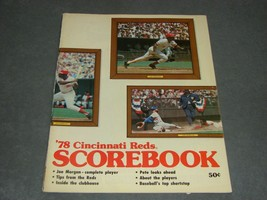 Cincinnati Reds Scorebook 1978 Reds vs Braves - $10.00