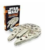 NEW SEALED 2017 Star Wars Construction Millennium Falcon Book + Mega Mod... - $14.89