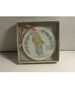 """#250112 PRECIOUS MOMENTS 1993 EASTER SEALS ORNAMENT """"YOU'RE MY #1 FRIEND"""" - $13.00"""