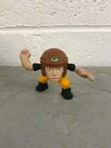 "Fast Food Toy McDonald's NFL Rush Zone Green Bay Packers 3"" 2013 - $0.98"