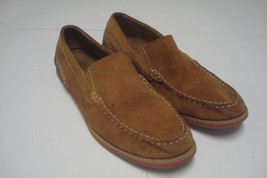 e9e4e34d8 GH Bass Mens Suede Loafers Sz 14 Slip On Casual Shoes Brown -  10.88