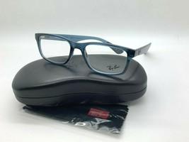 Ray-Ban ORX7063 5719 CLEAR BLUE Eyeglasses Frames 52-18-145MM  - $77.57