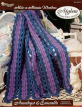 Amethyst & Emeralds Afghan TNS Crochet Pattern - 30 Days To Shop & Pay! - $1.77