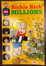 RICHIE RICH MILLIONS #37 (1969) Harvey Comics Giant Size VG+/FINE- - $9.89