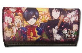 Black Butler 2: Characters Colorful Wallet GE61115 NEW! - $19.99