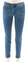 Women with Control My Wonder Ankle Jeans Contrast Sides Mid Blue 16 NEW ... - $36.61