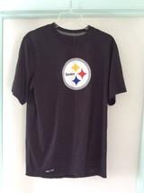 Ladies medium Steelers DRI- FIT NFL shirt - $18.58