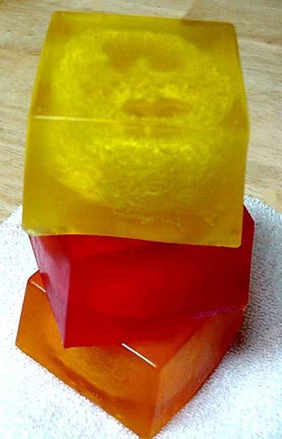 3 Loofah Soap SELECT YOUR 3 BARS Handmade by Berrysweetstuff Bonanza