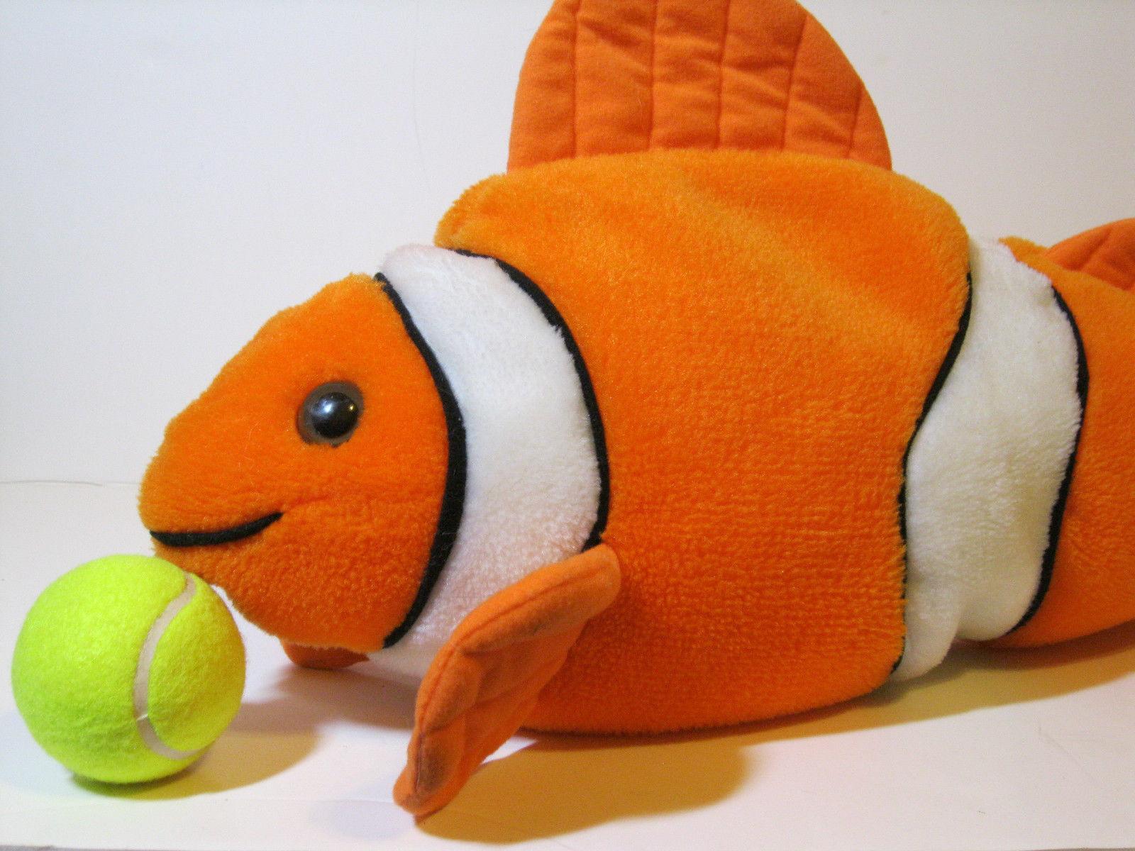 Huge 24 clown fish nemo great american toy co stuffed for Fish stuffed animals