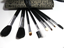 Hipster Makeup Brushes Travel Brush Set  - $30.00