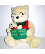Holiday Teddy Bear Family, Grandpa and Baby released 2000 - $19.98