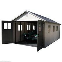 BIG Storage Building SHED Garage 11 x 18 ft. Tri-Fold Door Window Storag... - $4,373.70