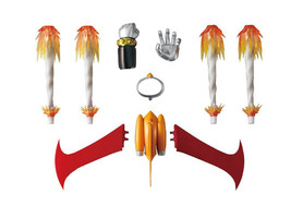 Mazinger: Mazinger Super Robot Chogokin Weapon Set for Action Figure NEW! - $37.99