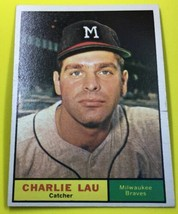 Charlie Lau 1961 Topps 261 - $2.18