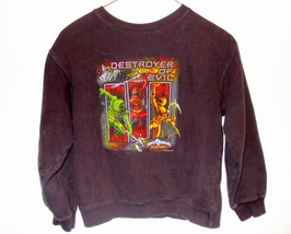 Boys Disney Brown Power Rangers Long Sleeve Sweatshirt M - $8.95