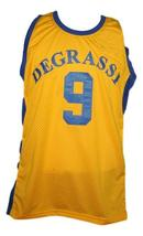 Jimmy Brooks Degrassi High School Basketball Jersey New Sewn Yellow Any Size image 1