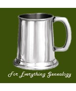 Half Pint Plain Blank Highly Polished Stylish Pewter Tankard