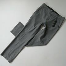 NWT Banana Republic Logan Trouser in Gray Twill Wool Straight Pants 2s x... - $42.00