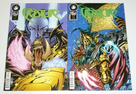 Creature #1-2 VF/NM complete series 1997 ANTARCTIC PRESS don walker comics set - $1.75