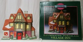 MEMORIES COLLECTION ILLUMINATED PORCELAIN Village Inn  - $24.74
