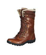 Timberland Women's Mount Hope Leather & Fabric Waterproof Snow Boots 8710R - $139.99