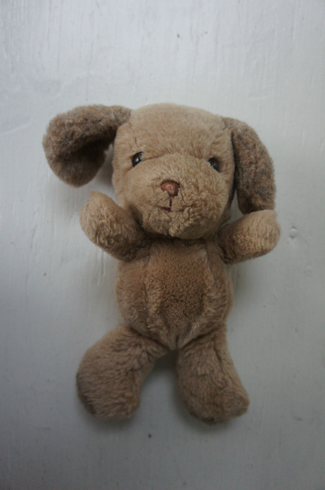 Primary image for Russ Berrie Dunhill Puppy Dog Plush Soft Toy Brown Vintage Stuffed 10""