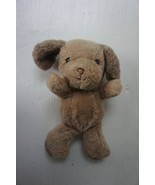 "Russ Berrie Dunhill Puppy Dog Plush Soft Toy Brown Vintage Stuffed 10"" - $24.98"