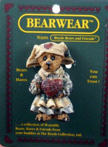 "Boyds Bearwear ""Clara.. Get Well "" - Resin Pin #26103- New- 1995- Retired - $11.99"