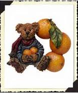 """Boyds Bears Fridgewear """"Valencia B. Bear"""" #26906-Resin Magnet-New-Retired - $10.99"""