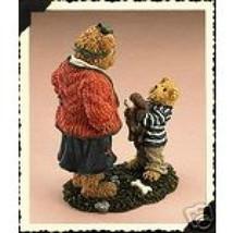"Boyds Bearstone ""Momma Softheart w/Bobby..Can I Keep Him?"" #228455- NIB- 2005 - $19.99"