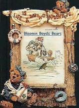 "Boyds Bearstone Frame ""Bailey...Life is a Daring Adventure"" #27354-1E-1999-NIB - $34.99"