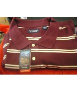 Roundtree & Yorke Heritage Coll 4XT Men's Polo Shirt 100% Cotton NWT $42... - $19.79