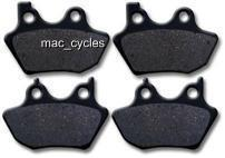 Disc Brake Pads for the Harley FXST/FXTB/FXTD 2000-2004 Front & Rear (2 sets)
