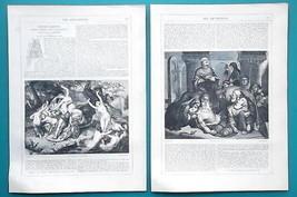 FREDERICK PICKERSGILL British Painter - 1856 Biography Article + Illustr... - $7.65